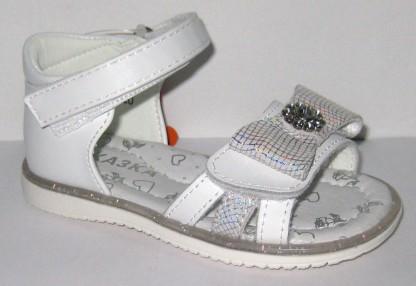 Летняя обувь 0085 серебро
